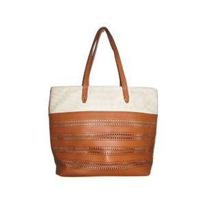 Stella & Dot Bags - Stella & Dot Faux Leather Cut Out Purse